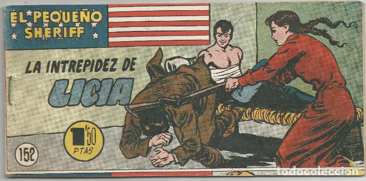 EL PEQUEÑO SHERIFF Nº 152 HISPANO AMERICANA DE EDICIONES (Tebeos y Comics - Hispano Americana - Otros)