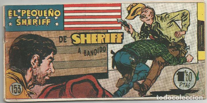 EL PEQUEÑO SHERIFF Nº 153 HISPANO AMERICANA DE EDICIONES (Tebeos y Comics - Hispano Americana - Otros)