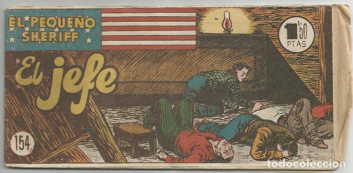 EL PEQUEÑO SHERIFF Nº 154 HISPANO AMERICANA DE EDICIONES (Tebeos y Comics - Hispano Americana - Otros)