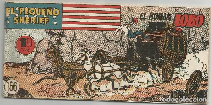 EL PEQUEÑO SHERIFF Nº 156 HISPANO AMERICANA DE EDICIONES (Tebeos y Comics - Hispano Americana - Otros)