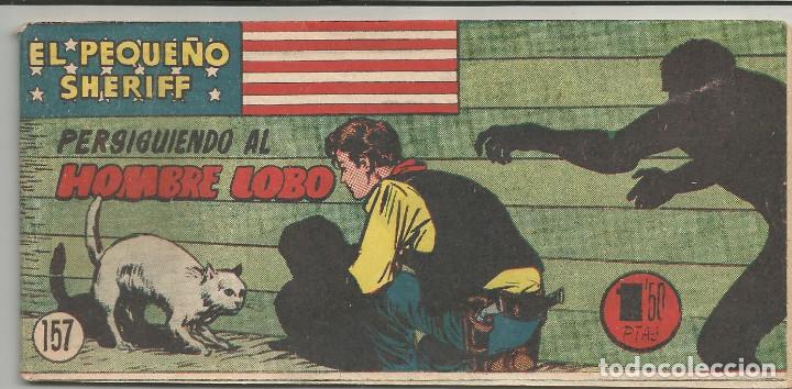 EL PEQUEÑO SHERIFF Nº 157 HISPANO AMERICANA DE EDICIONES (Tebeos y Comics - Hispano Americana - Otros)