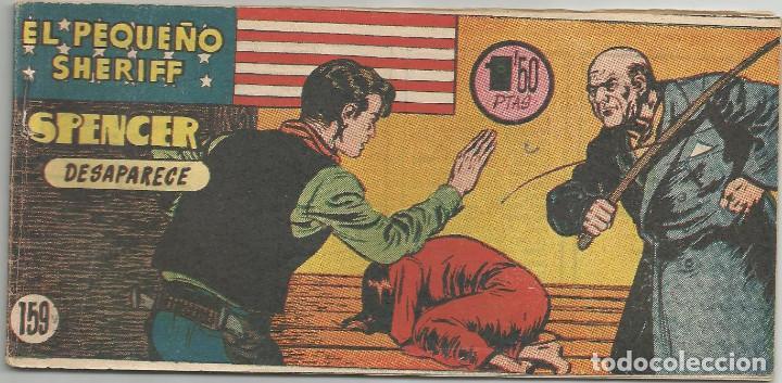 EL PEQUEÑO SHERIFF Nº 159 HISPANO AMERICANA DE EDICIONES (Tebeos y Comics - Hispano Americana - Otros)