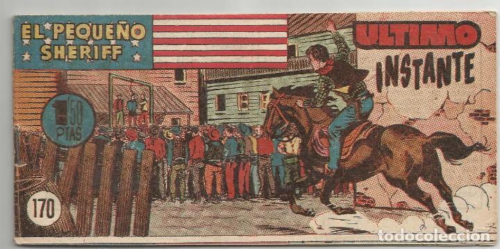 EL PEQUEÑO SHERIFF Nº 170 HISPANO AMERICANA DE EDICIONES (Tebeos y Comics - Hispano Americana - Otros)