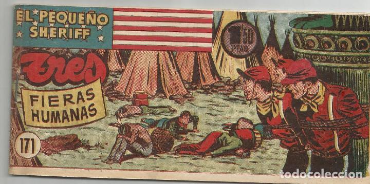EL PEQUEÑO SHERIFF Nº 171 HISPANO AMERICANA DE EDICIONES (Tebeos y Comics - Hispano Americana - Otros)