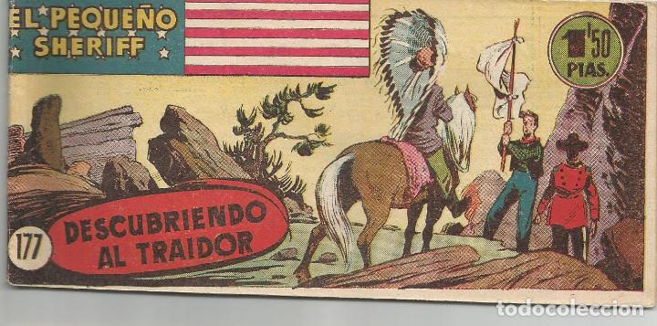 EL PEQUEÑO SHERIFF Nº 177 HISPANO AMERICANA DE EDICIONES (Tebeos y Comics - Hispano Americana - Otros)