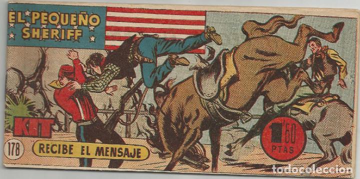 EL PEQUEÑO SHERIFF Nº 178 HISPANO AMERICANA DE EDICIONES (Tebeos y Comics - Hispano Americana - Otros)