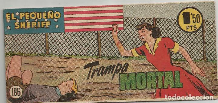 EL PEQUEÑO SHERIFF Nº 186 HISPANO AMERICANA DE EDICIONES (Tebeos y Comics - Hispano Americana - Otros)