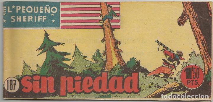 EL PEQUEÑO SHERIFF Nº 187 HISPANO AMERICANA DE EDICIONES (Tebeos y Comics - Hispano Americana - Otros)