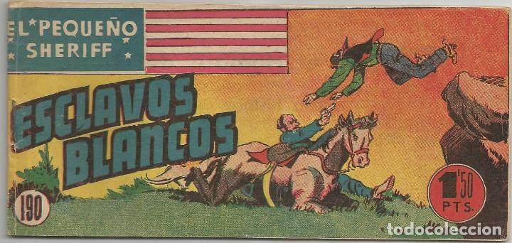 EL PEQUEÑO SHERIFF Nº 190 HISPANO AMERICANA DE EDICIONES (Tebeos y Comics - Hispano Americana - Otros)