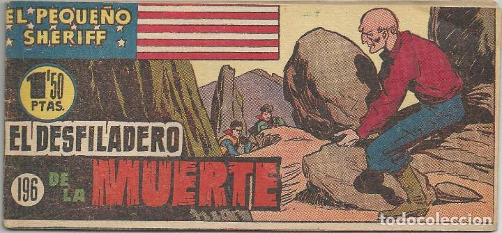 EL PEQUEÑO SHERIFF Nº 196 HISPANO AMERICANA DE EDICIONES (Tebeos y Comics - Hispano Americana - Otros)