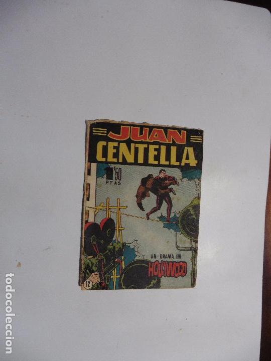 JUAN CENTELLA Nº 12 HISPANOAMERICANA BOLSILLO (Tebeos y Comics - Hispano Americana - Juan Centella)