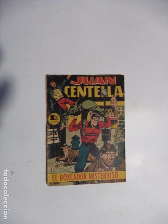 JUAN CENTELLA Nº 16 HISPANOAMERICANA BOLSILLO (Tebeos y Comics - Hispano Americana - Juan Centella)