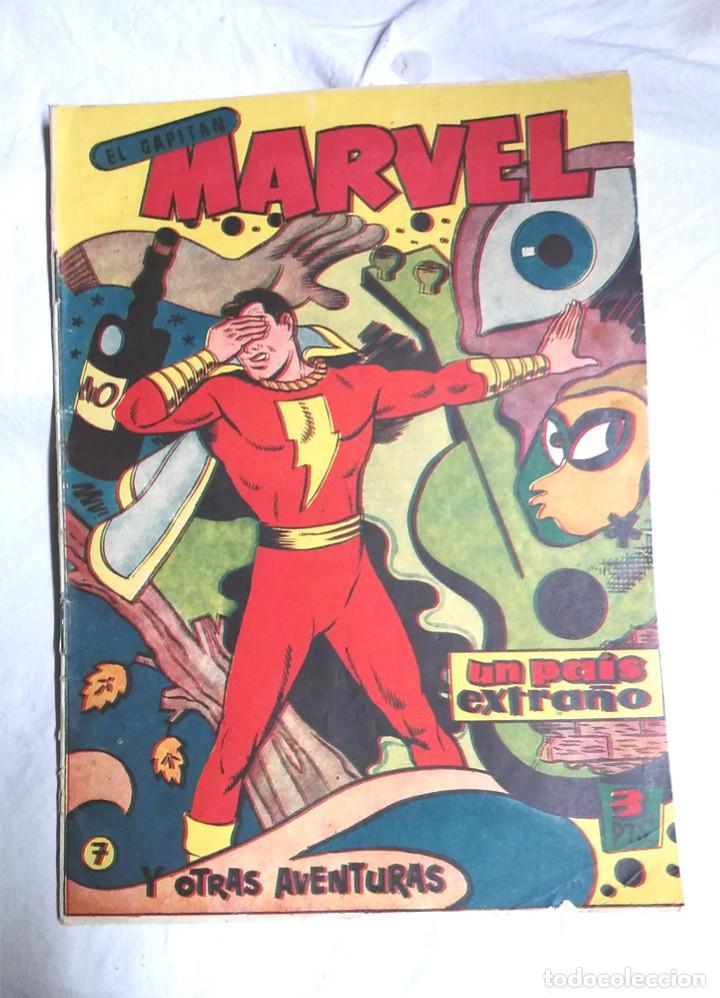 EL CAPITAN MARVEL Nº 7 UN PAIS EXTRAÑO, ORIGINAL EDITORIAL HISPANO AMERICANA AÑO 1960 (Tebeos y Comics - Hispano Americana - Capitán Marvel)