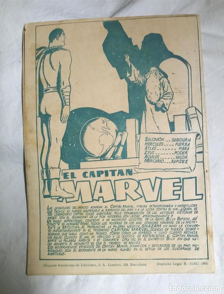 Tebeos: El Capitan Marvel nº 7 Un Pais extraño, original Editorial Hispano Americana año 1960 - Foto 2 - 105229455