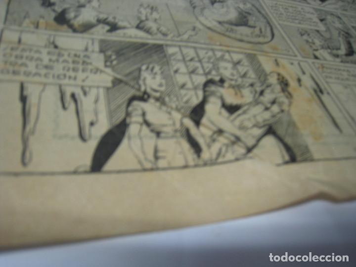 Tebeos: LA MUJER DE HIELO, Con MERLÍN EL REY DE LA MAGIA. Barcelona, Hispano Americana - Foto 6 - 105279671