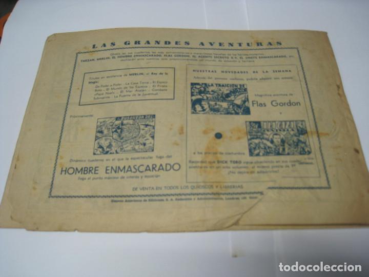 Tebeos: LA MUJER DE HIELO, Con MERLÍN EL REY DE LA MAGIA. Barcelona, Hispano Americana - Foto 7 - 105279671