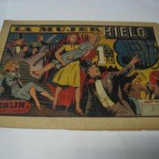 Tebeos: LA MUJER DE HIELO, CON MERLÍN EL REY DE LA MAGIA. BARCELONA, HISPANO AMERICANA. Lote 105279671