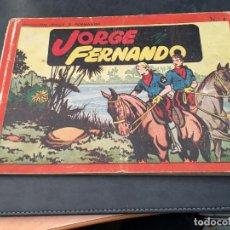 Tebeos: JORGE Y FERNANDO Nº 1 ALBUM ROJO (ORIGINAL HISPANO AMERICANA) (COI51). Lote 105487579