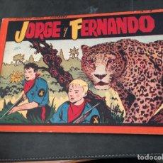Tebeos: JORGE Y FERNANDO Nº 3 ALBUM ROJO (ORIGINAL HISPANO AMERICANA) (COI51). Lote 105489075