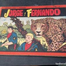 Tebeos: JORGE Y FERNANDO Nº 3 ALBUM ROJO (ORIGINAL HISPANO AMERICANA) (COI51). Lote 105489375