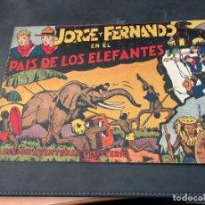 Tebeos: JORGE Y FERNANDO Nº 1 EN EL PAIS DE LOS ELEFANTES (ORIGINAL HISPANO AMERICANA) (COIB150). Lote 105519727