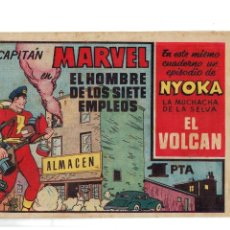 Tebeos: EL CAPITÁN MARVEL Nº 7 -ORIGINAL- AÑO 1947. Lote 105931567