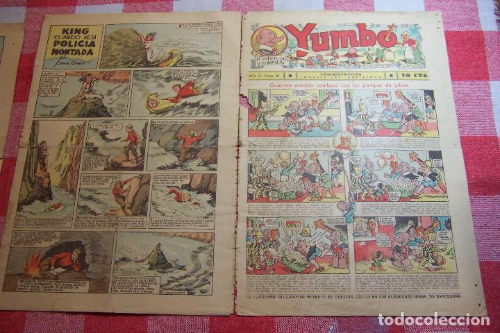 HISPANO AMERICANA-- YUMBO AÑOS 30 Nº 61-64-65-67. (Tebeos y Comics - Hispano Americana - Yumbo)