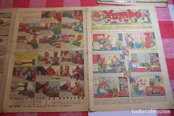 HISPANO AMERICANA-- YUMBO AÑOS 30 Nº 80-81-82-83-84-85-86-97-88-89 (Tebeos y Comics - Hispano Americana - Yumbo)