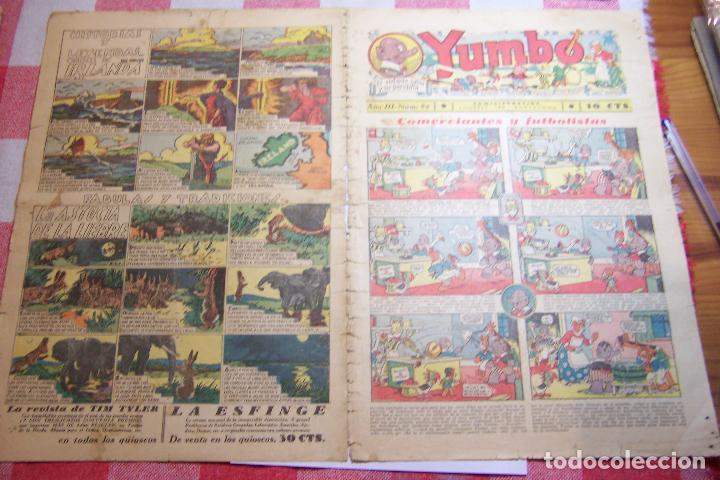 Tebeos: hispano americana-- yumbo años 30 nº 80-81-82-83-84-85-86-97-88-89 - Foto 5 - 106214423
