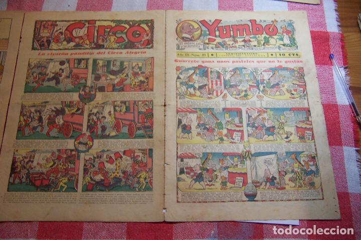 Tebeos: hispano americana-- yumbo años 30 nº 80-81-82-83-84-85-86-97-88-89 - Foto 11 - 106214423