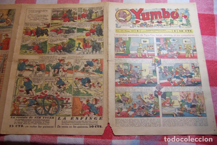 Tebeos: hispano americana-- yumbo años 30 nº 80-81-82-83-84-85-86-97-88-89 - Foto 15 - 106214423