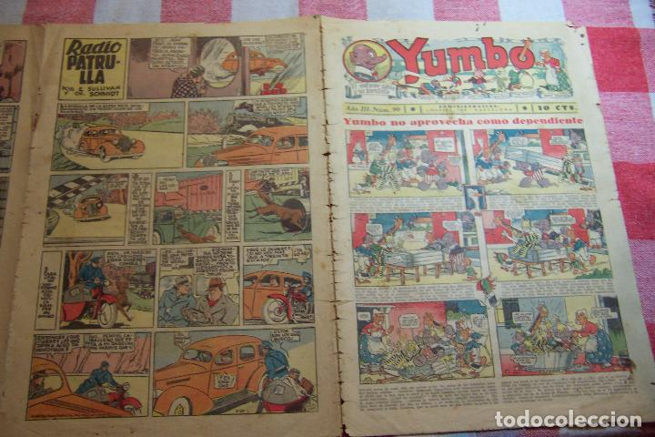 HISPANO AMERICANA-- YUMBO AÑOS 30 Nº 90- (Tebeos y Comics - Hispano Americana - Yumbo)