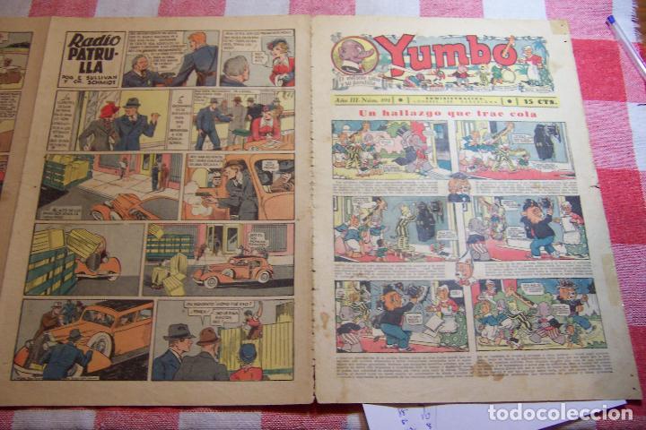 HISPANO AMERICANA-- YUMBO AÑOS 30 Nº 101-102-103-104-105-106-107-108-109 (Tebeos y Comics - Hispano Americana - Yumbo)