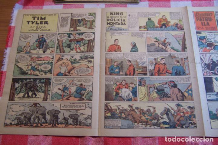 Tebeos: hispano americana-- yumbo años 30 nº 101-102-103-104-105-106-107-108-109 - Foto 18 - 106227243