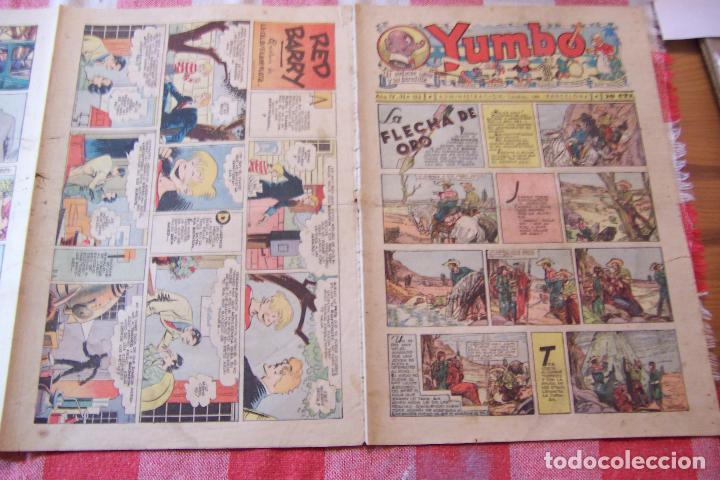 Tebeos: hispano americana-- yumbo años 30 nº 130-131-132-133-134-135-136-137-138-139 - Foto 7 - 106283439