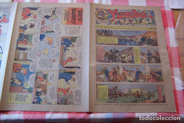 HISPANO AMERICANA-- YUMBO AÑOS 30 Nº 140-141-142-143-144- (Tebeos y Comics - Hispano Americana - Yumbo)