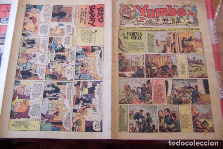 Tebeos: hispano americana-- yumbo años 30 nº 140-141-142-143-144- - Foto 7 - 106316791
