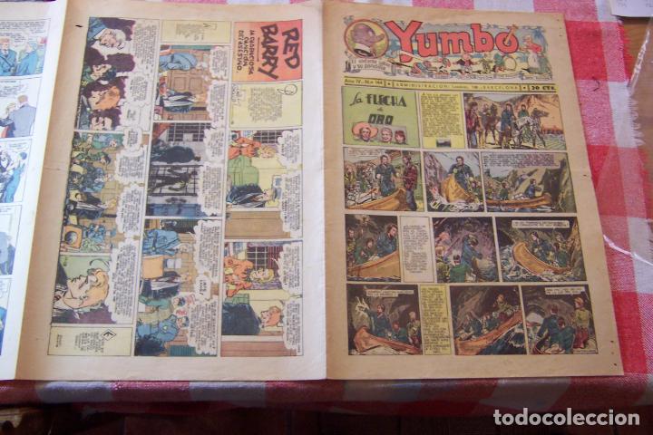Tebeos: hispano americana-- yumbo años 30 nº 140-141-142-143-144- - Foto 9 - 106316791
