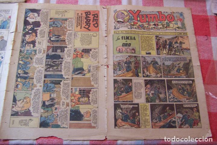 HISPANO AMERICANA-- YUMBO AÑOS 30 Nº 144 ULTIMO FORMATO GRANDE (Tebeos y Comics - Hispano Americana - Yumbo)