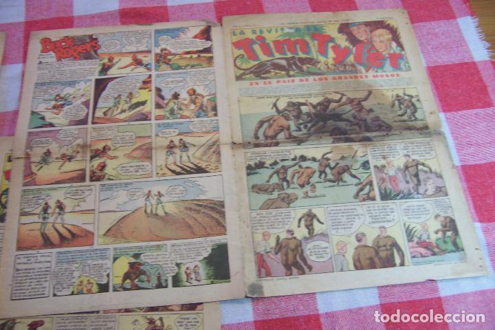 HISPANO AMERICANA,,TIM TYLER AÑOS 30 Nº 6-10-11-12-13-14-15-16-17-18- (Tebeos y Comics - Hispano Americana - Tim Tyler)