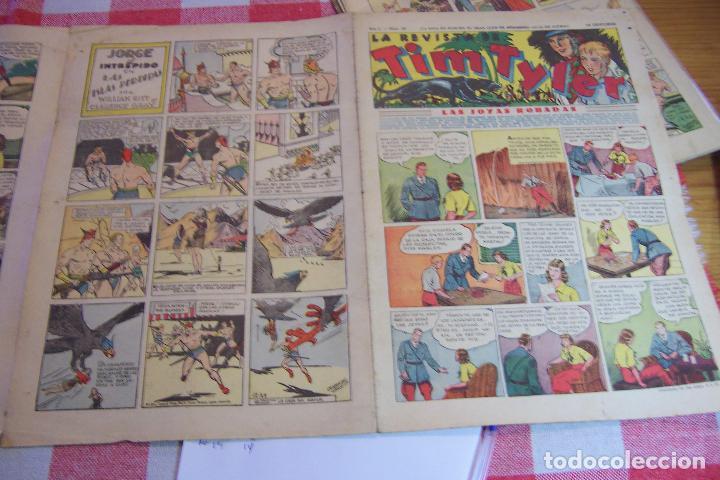 HISPANO AMERICANA,,TIM TYLER AÑOS 30 Nº 20-21-23-26-28-29. (Tebeos y Comics - Hispano Americana - Tim Tyler)