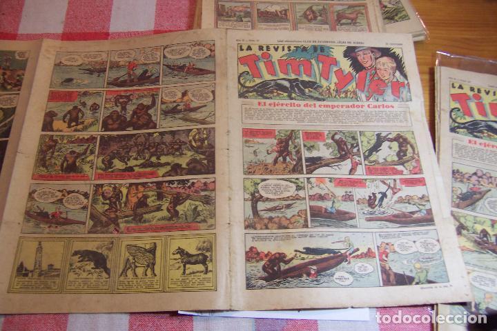 HISPANO AMERICANA,,TIM TYLER AÑOS 30 Nº 55-56-57-58-59 (Tebeos y Comics - Hispano Americana - Tim Tyler)