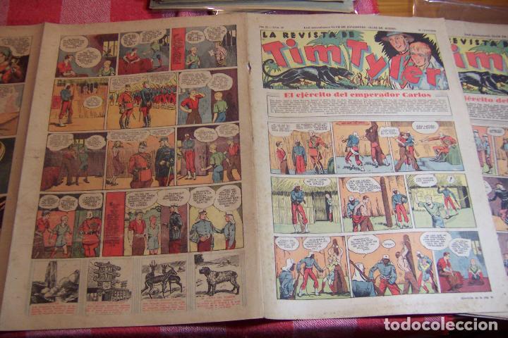 Tebeos: hispano americana,,tim tyler años 30 nº 55-56-57-58-59 - Foto 5 - 106597803