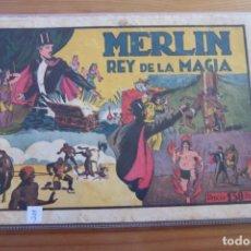 Tebeos: HISPANO AMERICANA, MERLIN Nº 5 EL REY DE LA MAGIA. Lote 107009107