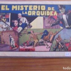 Tebeos: HISPANO AMERICANA, MERLIN Nº 9 EL MISTERIO DE LAS ORQUÍDEAS.. Lote 107009319