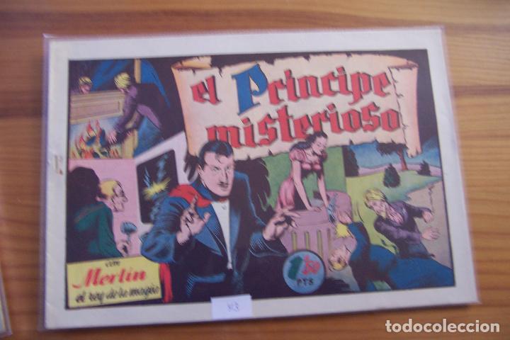 Tebeos: hispano americana, lote de merlín el mago, ver - Foto 35 - 81703172