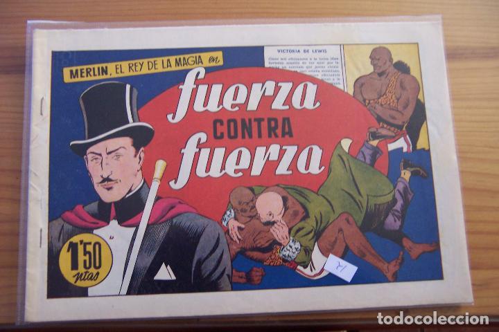 Tebeos: hispano americana, lote de merlín el mago, ver - Foto 45 - 81703172