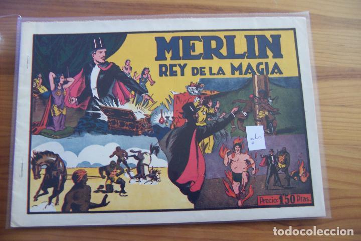 Tebeos: hispano americana, lote de merlín el mago, ver - Foto 49 - 81703172