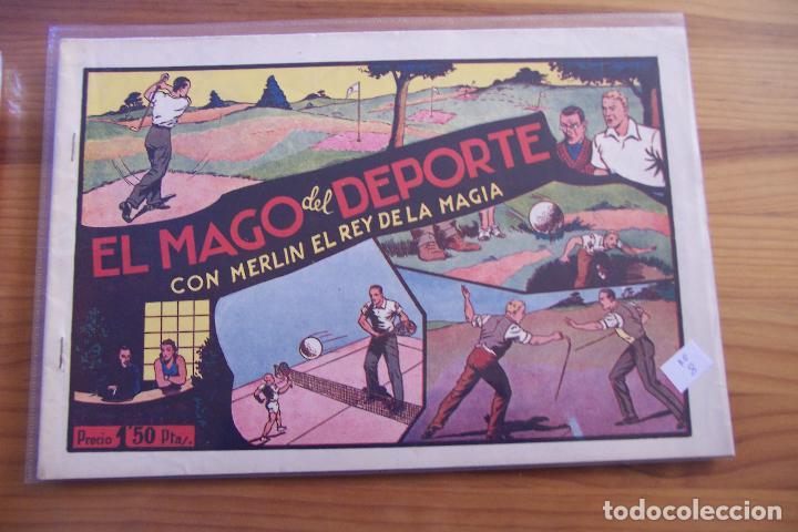 Tebeos: hispano americana, lote de merlín el mago, ver - Foto 51 - 81703172