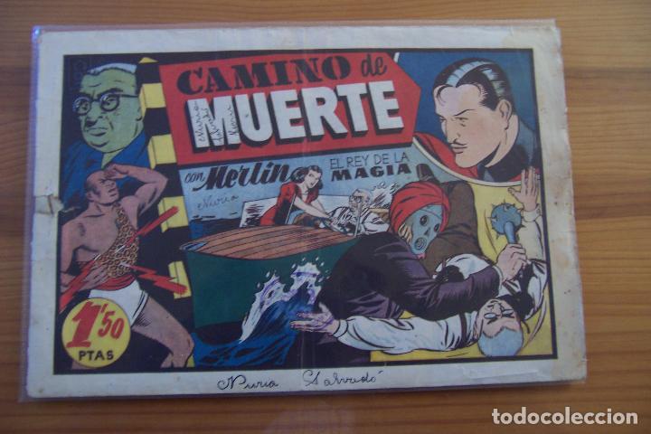 Tebeos: hispano americana, lote de merlín el mago, ver - Foto 61 - 81703172